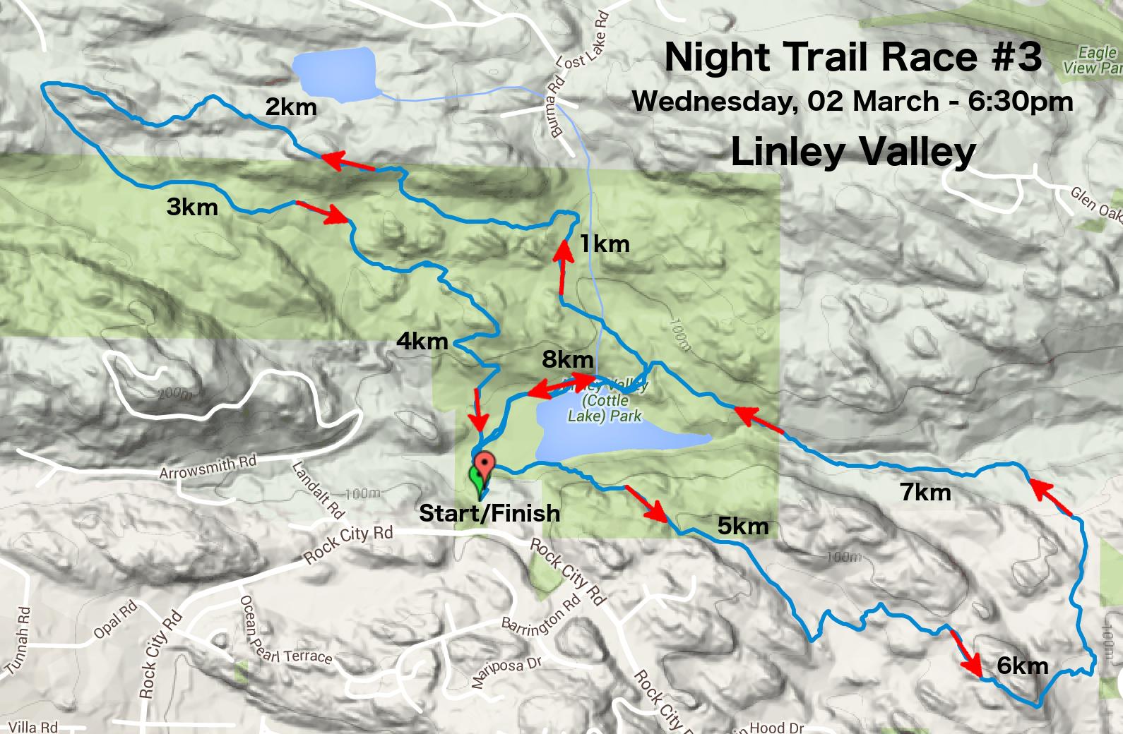 westwood lake course maps